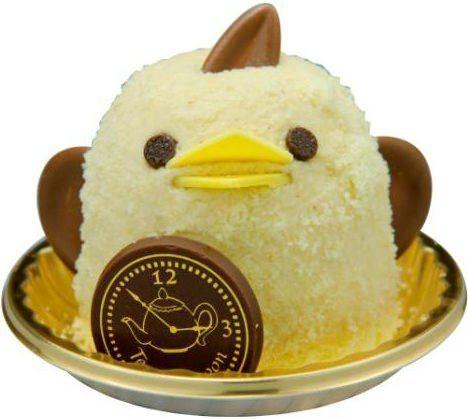 """JR名古屋駅で販売されているひよこ型スイーツ「ぴよりん」に、季節限定フレーバー「紅茶ぴよりん」が登場。11月1日の""""紅茶の日""""にちなんで発売された。価格は1個370円(税込)。"""