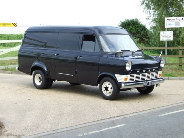 Good Ol, Ford Transit LWB Mk1 with the sliding doors (Great for summer driving ;-)