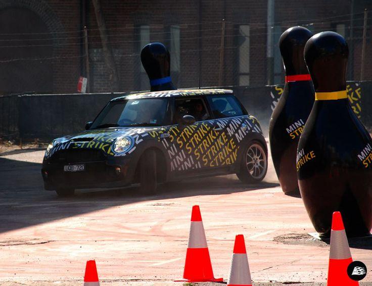 MINI Strike, Event Wrap, Vehicle Wrap Sydney