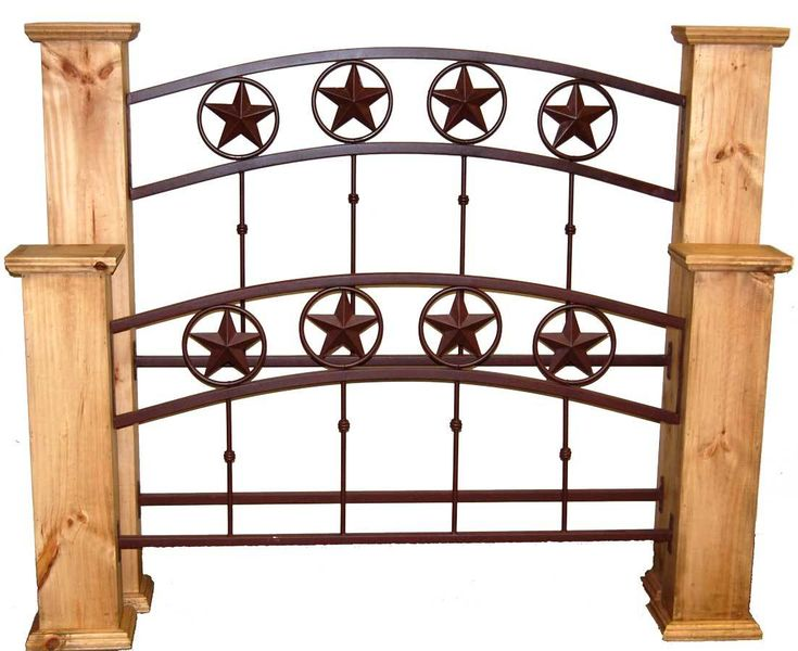 Iron King Bed   Rustic Furniture   Great Western Furniture Co.
