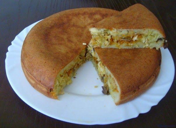Лучшие кулинарные рецепты: Заливной пирог в МУЛЬТИВАРКЕ