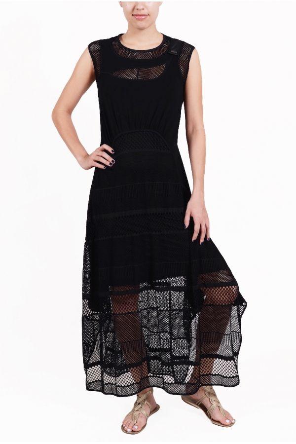 LONG MACRAME MESH Dress from Beate Heymann