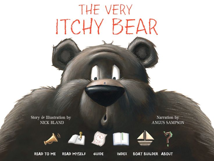 The Very Itchy Bear by Nick Bland | YEAR 2 INFORMATION LITERACY 2013