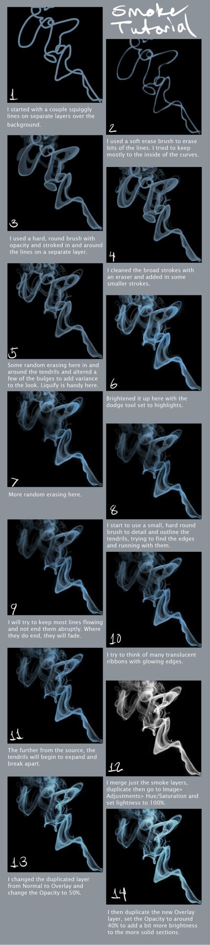 Smoke Tutorial by portohle -                                         How to Art
