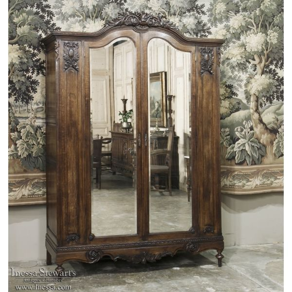Antique Armoires | Formal Armoires | 19th Century French Neoclassical  Armoire | Www.inessa.