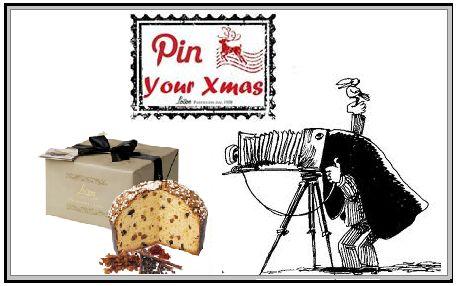 Pin Your xmas! immortala il Panettone in tutta la sua essenza