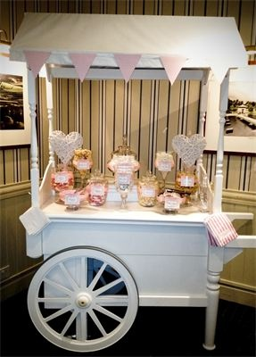 Vintage Candy Cart : Candy Cart Yorkshire