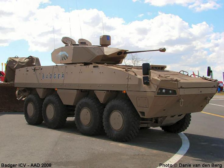 Badger ICV Infantry Combat Vehicle