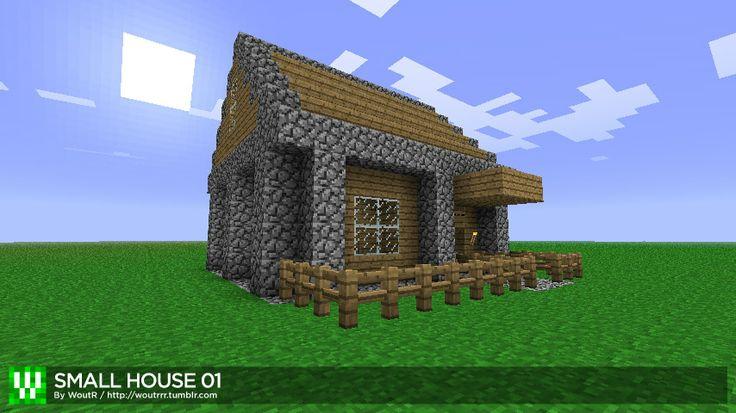 Minecraft House Schematics | HOUSE 01MINECRAFT SCHEMATIC for MCEditDescriptionThis is a schematic ...