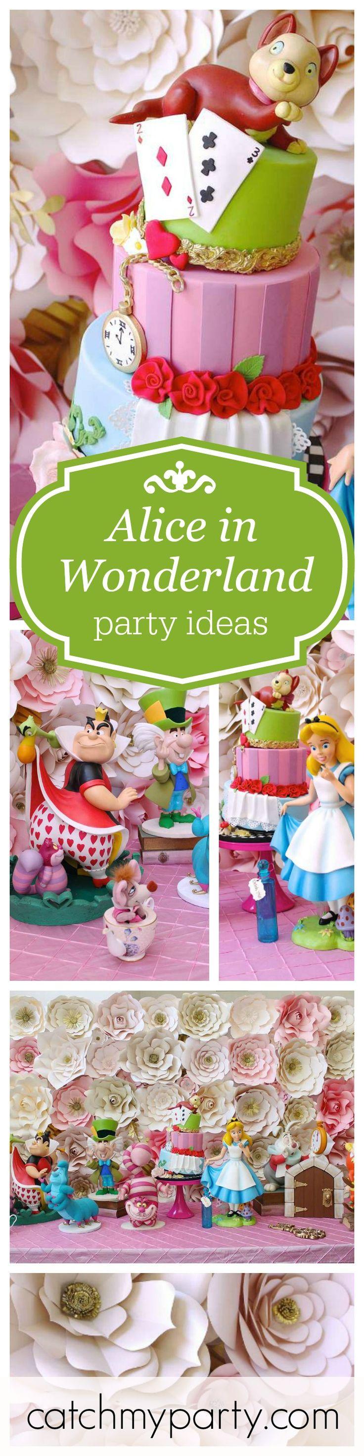 Alice in Wonderland Birthday Alice in