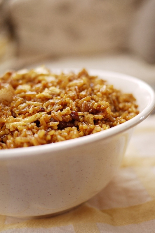 Nasi goreng is a favorite Indonesian food loved by the Dutch in Holland and the Dutch Caribbean..