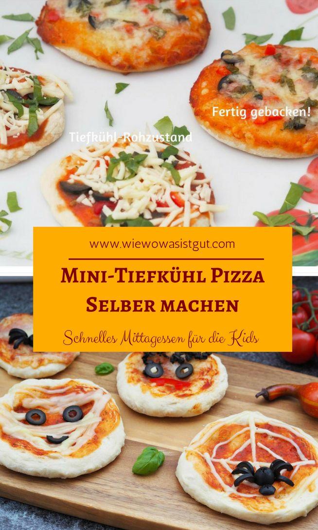 Leckere Mini-Pizza für die Kids, welche in 10 Minuten fertig ist? Das geht...und zwar müsst Ihr Euch dafür einmal Arbeit machen und süße Mini-Pizzas im Rohzustand vorbereiten und belegen und sofort einfrieren. Mittags schnell in den Backofen schieben und nach 10 Minuten sind diese fertig. Im Zuge der PENNY Veggie-Challenge gibt es die Mini-Pizza für die Kids vegetarisch. LECKER!!  #veggie #penny #pizza  -Werbung-