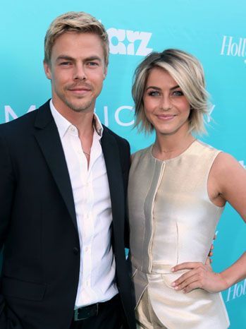 Derek Hough and Julianne Hough The dancing-acting brother-sister duo hit the blue carpet together. Derek Hough just won Dancing With the Stars with Kellie Pickler, while Julianne Hough most recently appeared on the big screen in Safe Haven.