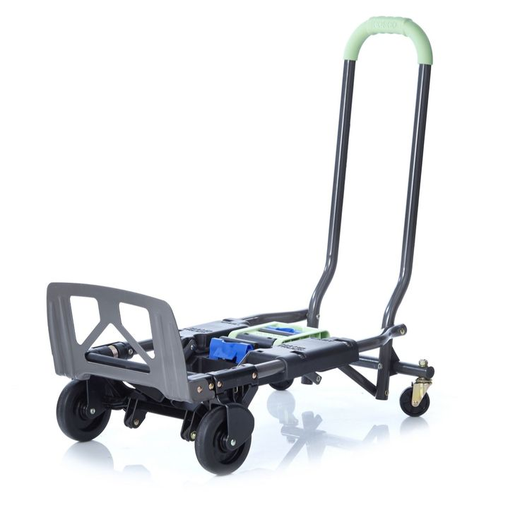 508058 Cosco 2 Position Folding Hand Cart QVC Price:£77.00  Feature Price: £69.96 + P&P: £6.95  This Cosco folding hand cart is made from highly durable steel and folds for compact storage. Move items around the home or office with ease with this easy to use hand cart that can also be used as a hand truck.