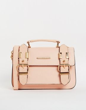 River Island Pink Mini Satchel