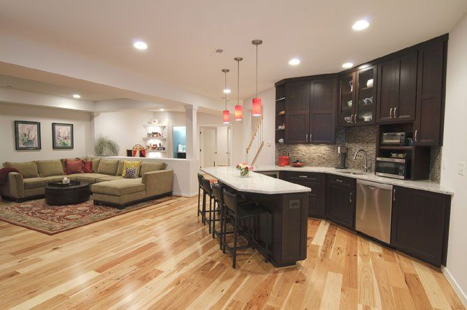 133 best images about over garage apartments on pinterest for Basement mother in law suite