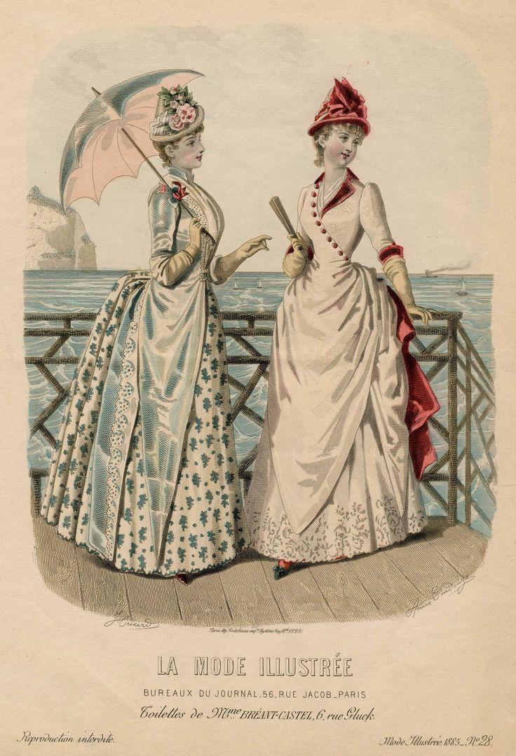 La Mode Illustrée 1885