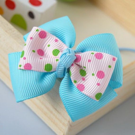 Handmade Hair Bows | Handmade bow ideas