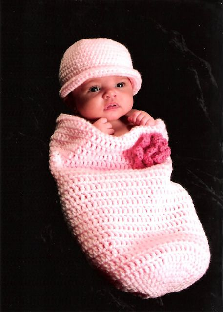 Baby Cocoon & Hat Pattern
