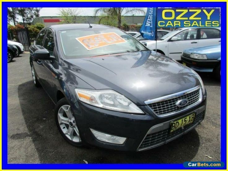 2009 Ford Mondeo MA Zetec Grey Automatic 6sp A Hatchback #ford #mondeo #forsale #australia