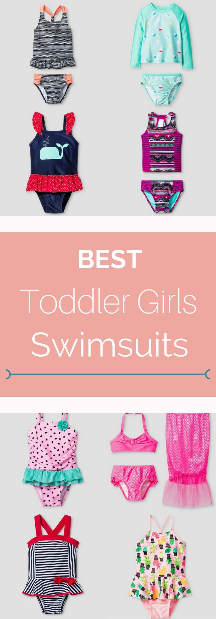 These are the best toddler girls swimsuits and all are from Target!