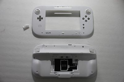 OEM Nintendo Wii U Replacement Faceplat Front & White Shell Gamepad Co – Popular for Sale