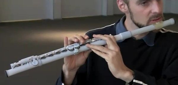 3D printed flute - cutting out the middleman
