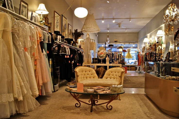 vintage boutiques should transport you into that era