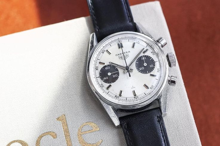 This very rare panda and decimetre dialled Heuer Carrera 7753SND is live now. Like many of Heuers most iconic chronographs the origins of the Carrera can be traced back to early 60s motorsport. Inspired by one of historys most dangerous sports car racing events the Carrera Panamericana the Heuer Carrera 7753SND epitomises the brand's famous sixties spirit and design philosophy. Jack heuers strict adherence to legibility and function ahead of all other considerations accomplished a design…