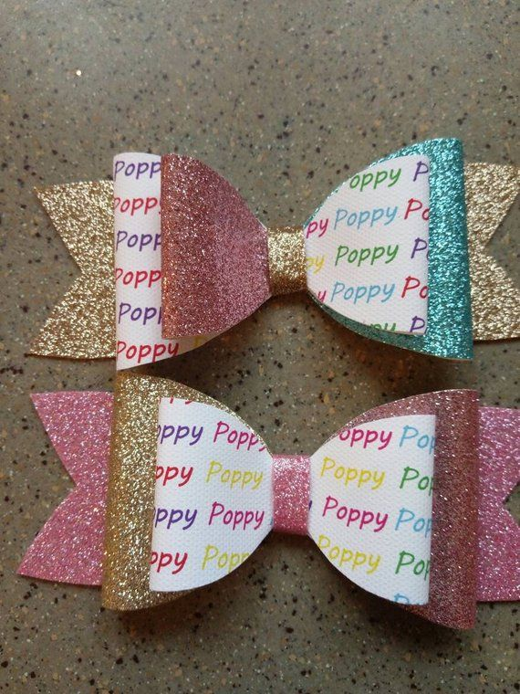5 Inch Children's Sleepy Unicorn Hair Bow