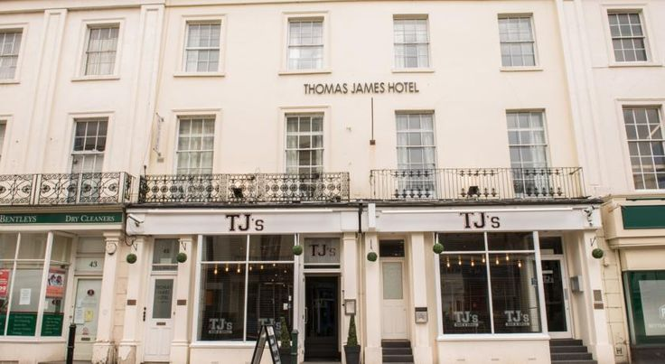 Thomas James Hotel Leamington Spa The Thomas James Hotel  has a Regency style of architecture and is a Grade II listed building located in a conservation area of Royal Leamington Spa.  The hotel is situated at the bottom of the main shopping high street in Leamington Spa.