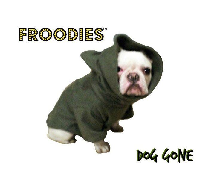 French Bulldog Boston Terrier Pug Dog Froodies Hoodies Camo Olive Green Fleece Sweatshirt Jacket Coat by FroodiesHoodies on Etsy https://www.etsy.com/listing/215961110/french-bulldog-boston-terrier-pug-dog