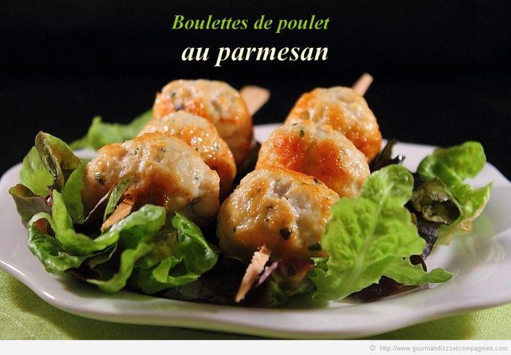 Boulettes de poulet au parmesan2 bis