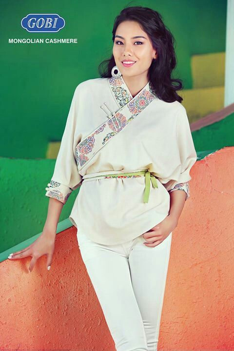 Modern dress clothes for a woman - Modern Hobbies Forward Mongolian Fashion National Modern See More