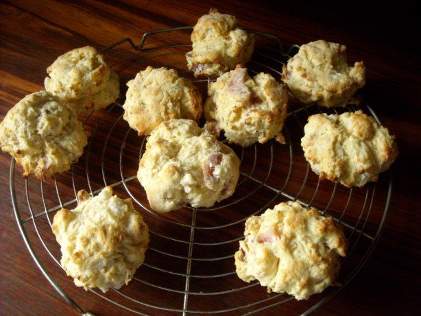 Bacon and Onion Scones