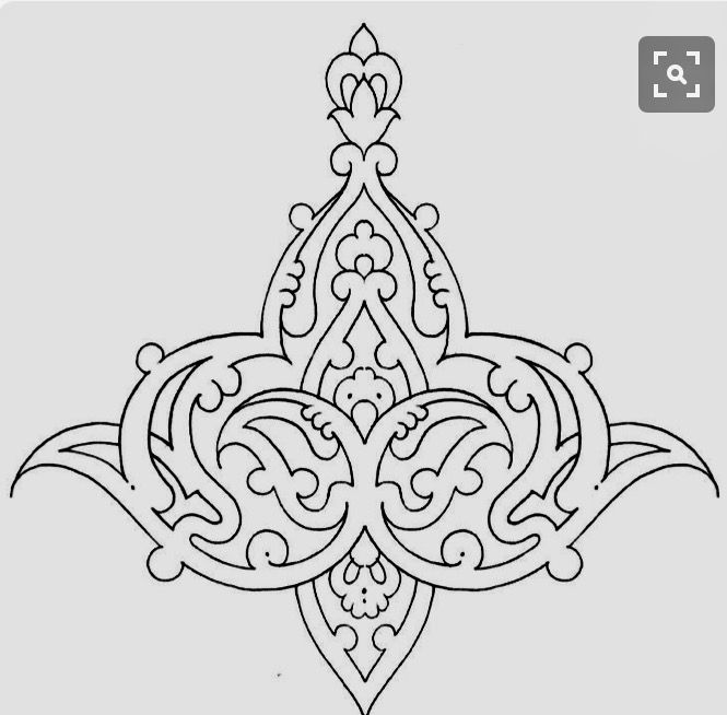 Arabesque Pattern Persian Lost Paradise Zentangles Islamic Searching Stencils Doodles Coloring