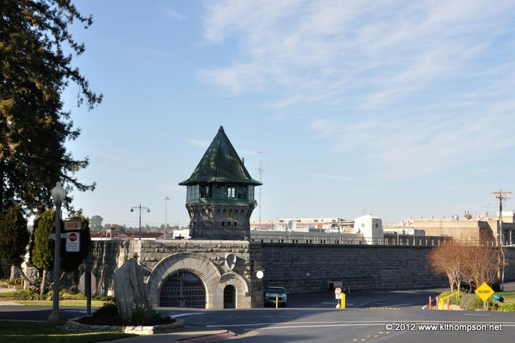 The East Gate at Folsom Prison in Folsom, California. This place is huge! Johnny Cash was never in Folsom Prison, he just sang about it. On the other hand...Dog the Bounty Hunter was in Folsom.