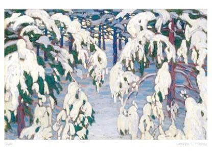 lawren s. harris snow 1917 - Google Search