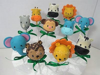 Safari Animal Cake Pops