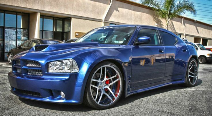 Dodge Charger Forgiato 2 0 Crazy Paint Job And An