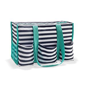 The Zip-Top Organizing Utility Tote is only $10 in the month of February when you spend $35!