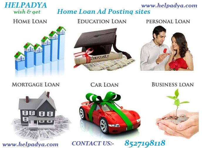 I am the marketing head of a reputed company in Delhi. So, finally I've decided the best way to advertisement is toLoans wanted Classifieds in Help Adya, free classified site in Delhi. I am extremely happy to say that with the help of Help Adya my ad has generated high visibility in top list. Highly Recommended! and more info Must visit here for post your services and product here here www.helpadya.com or call at 8527198118.