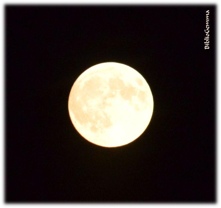 12 de enero, primera Luna llena de 2017.  Luna llena: fase lunar en la que la Luna se hace más visible y se percibe como un disco iluminado. Los Antiguos egipcios, observadores de la naturaleza y estudiosos de la astronomía, celebraban todas sus fiestas en plenilunio o novilunio. El mismo Champollion reconoció que, en ocasiones, leía jeroglíficos a la luz de la Luna, tal vez por ello bautizaron con su nombre un cráter lunar. Y tú, ¿eres lunátic@? www.bibliogemma.com