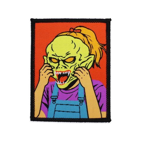 Goosebumps Haunted Mask Patch In 2020 Art Design Goosebumps Pop Art Design