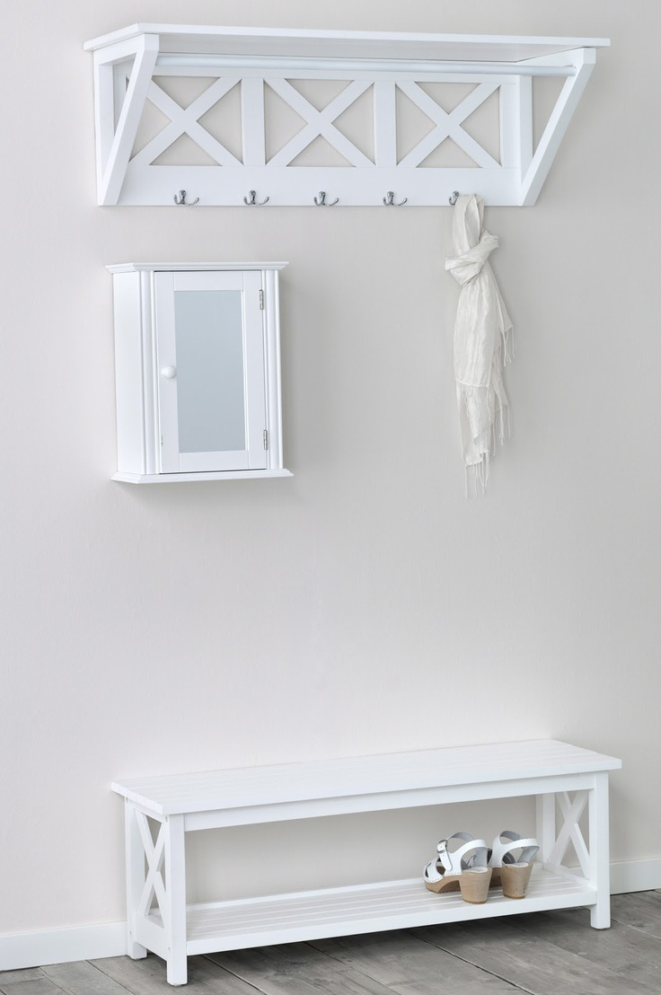 Hallway storage - for your shoes, jackets, keys and hats!