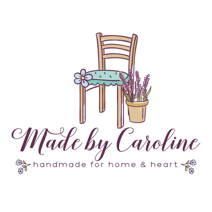 Sweet home decor premade logo design customized with for Home interiors logo