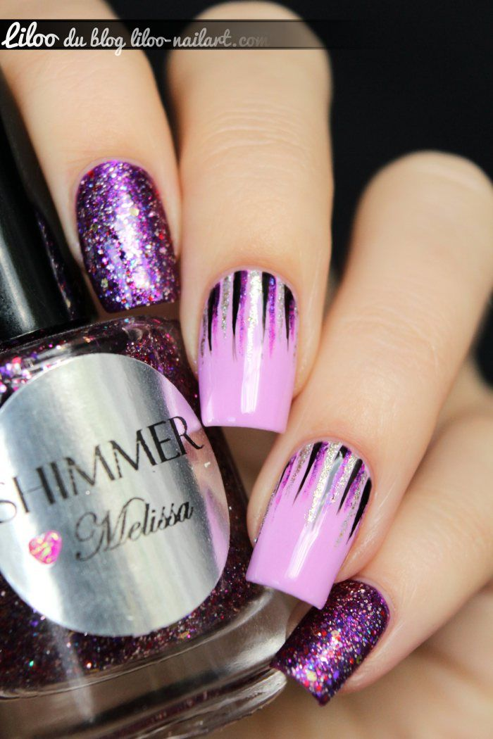 Best 468 NAILS...IN PURPLE / LILAC / MAUVE Images On
