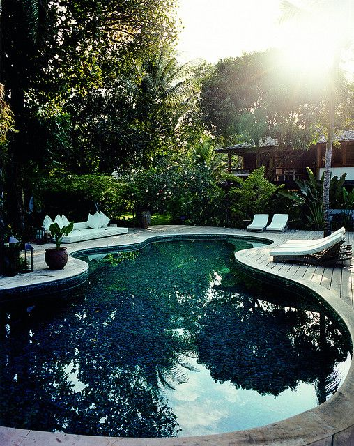 10 Best Images About Black Bottom Pools On Pinterest Dark Four Seasons And Key West