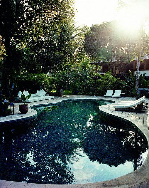 Casa Hotel & Spa. Looks exactly like my pool. Love the wood deck. #hotelinteriordesigns