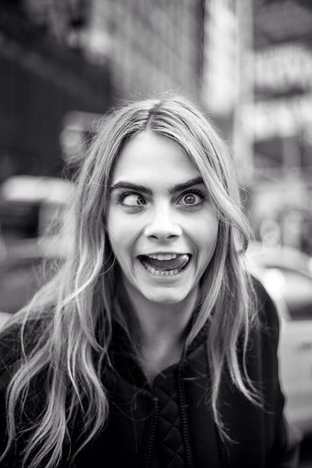 Cara Delevingne funky hair - Google Search